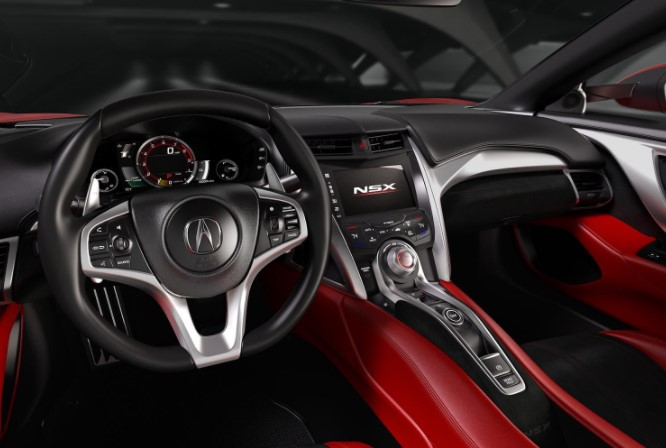 2019 Acura NSX Type-R Interior