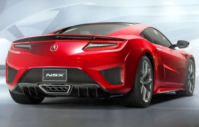 2019 Baby Acura NSX Engine
