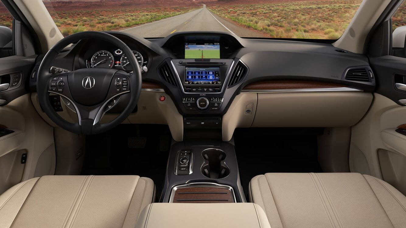 New Acura MDX 2020 Interior