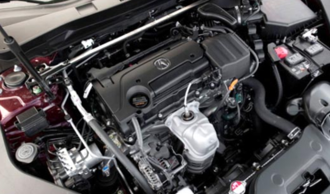 2019 Acura TLX Engine