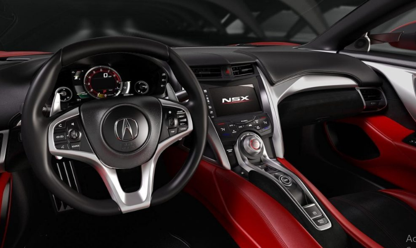 2020 Acura NSX Type R Interior