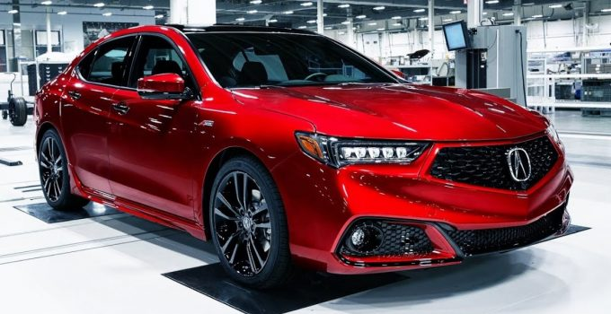 2021 Acura TLX Exterior