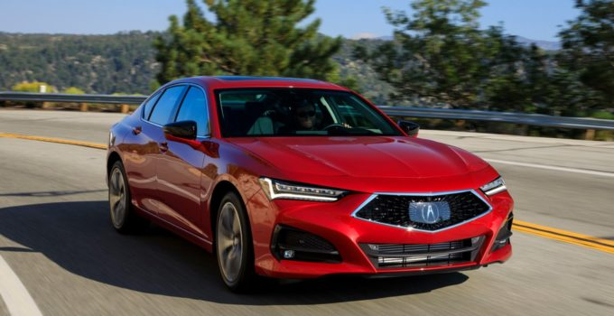 2023 Acura TLX Exterior